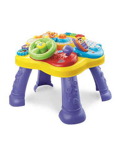 Vtech Magic Star Learning Table (Bilingual)-YELLOW-One Size