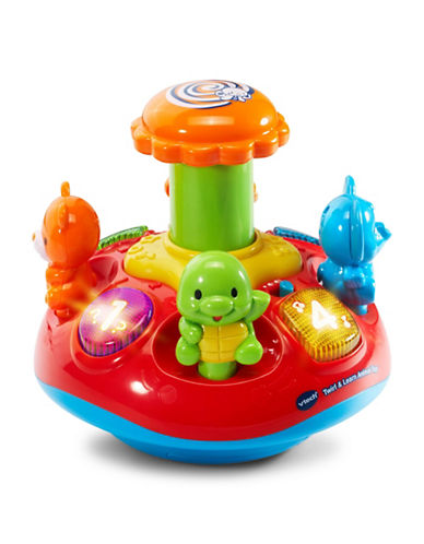 Vtech Twirl and Learn Animal Top (English Version)-RED-One Size