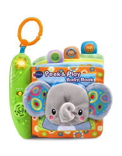 Vtech Peek and Play Baby Book (English Version)-MULTI-One Size