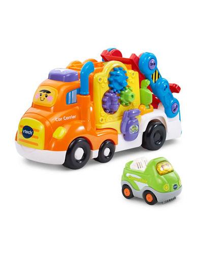 Vtech Go Go Smart Wheels - Car Carrier (English Version)-ORANGE-One Size