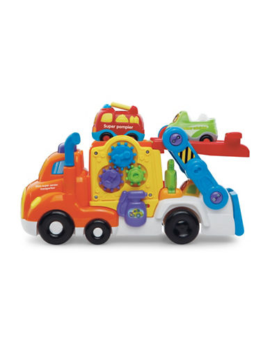 Vtech Go Go Smart Wheels - Car Carrier (French Version)-ORANGE-One Size