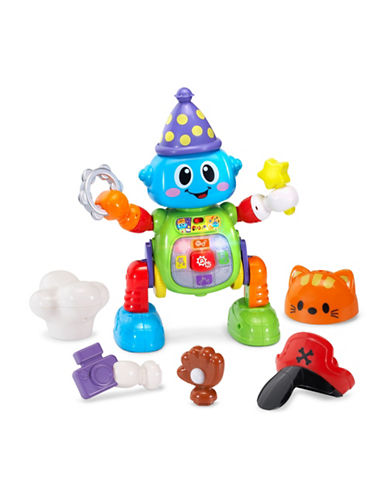 Vtech Bizzy the Mix and Move Bot (English Version)-BLUE-One Size