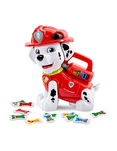 Vtech Paw Patrol - Chomp and Learn Marshall (French Version)-WHITE-One Size