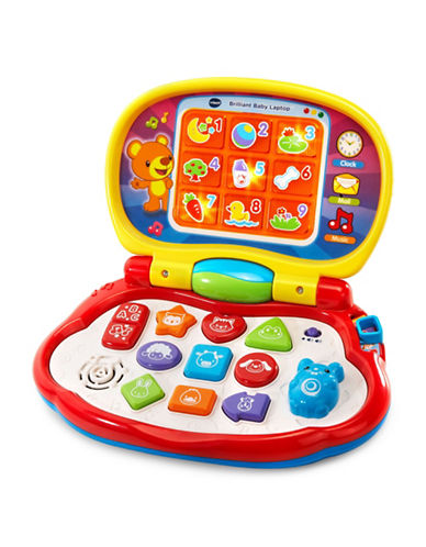 Vtech Brilliant Baby Laptop (French Version)-MULTI-One Size