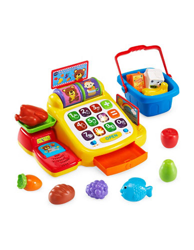 Vtech Ring and Learn Cash Register (English Version)-YELLOW-One Size