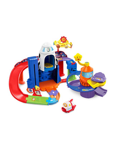 Vtech Go Go Smart Wheels - Blast Off Space Station (English Version)-BLUE-One Size