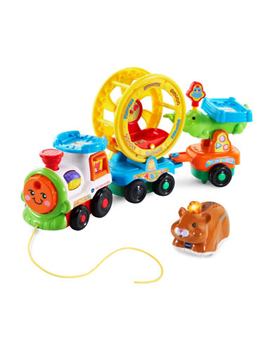 Vtech Go Go Smart Animals - Roll and Sing Pet Carrier (English Version)-YELLOW-One Size