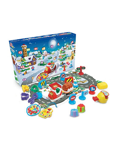 Vtech Go! Go! Smart Wheels Advent Calendar (French Version)-BLUE-One Size