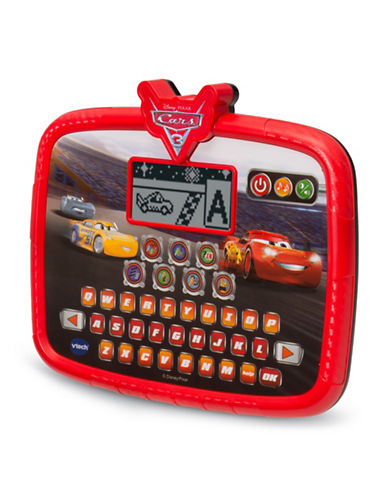 Vtech Race and Learn Tablet (English Version)-RED-One Size