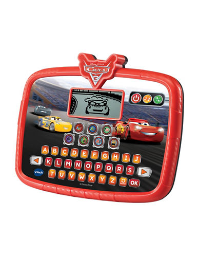 Vtech Race and Learn Tablet (French Version)-RED-One Size