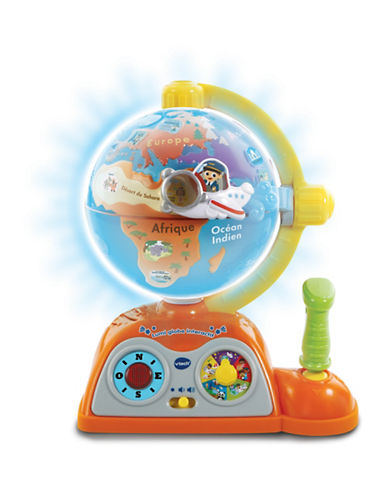 Vtech Light and Flight Discovery Globe (French Version)-YELLOW-One Size