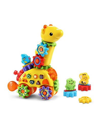 Vtech Gearzooz Spin & Laugh Gearaffe (English Version)-YELLOW-One Size