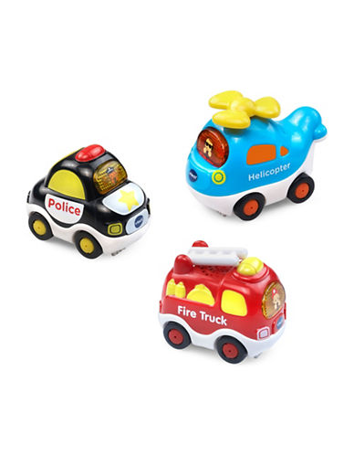 Vtech Go Go Smart Wheels - Vehicle Value Pack (English Version)-MULTI-One Size