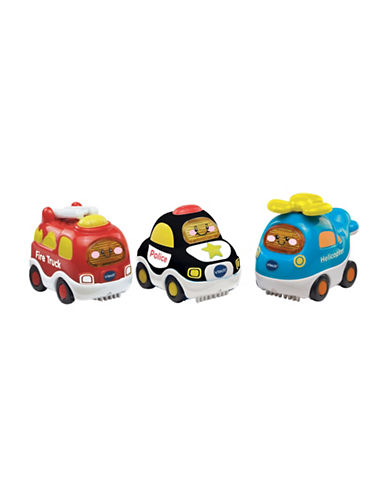 Vtech Go Go Smart Wheels - Vehicle Value Pack (French Version)-MULTI-One Size