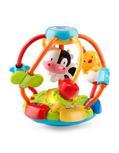 Vtech Lil Critters Shake and Wobble Busy Ball (French Version)-YELLOW-One Size