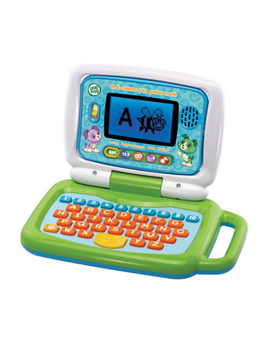 Leapfrog 2-in-1 Leaptop Touch - French Version-GREEN-One Size