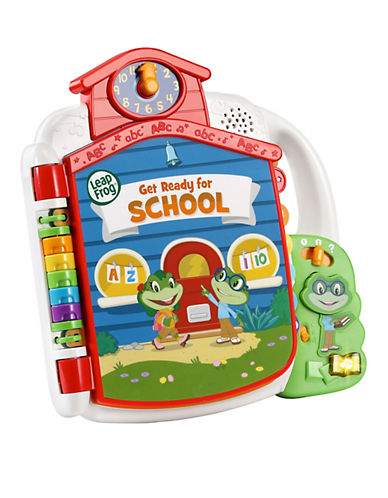 Leapfrog Tad's Get Ready For School Book (English Version)-MULTI-One Size