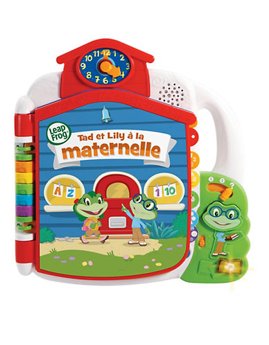 Leapfrog Tads Get Ready For School Book (French Version)-MULTI-One Size