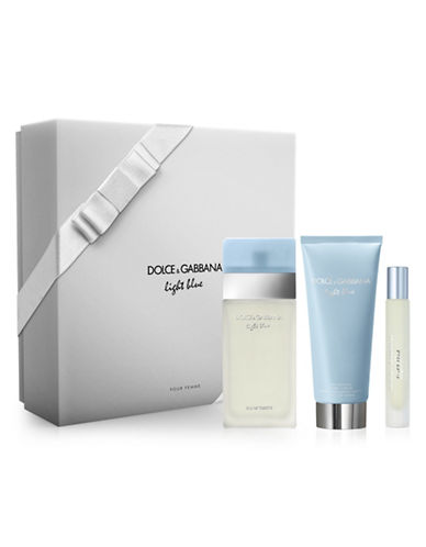 Dolce & Gabbana Light Blue Three-Piece Holiday Gift Set-0-100 ml