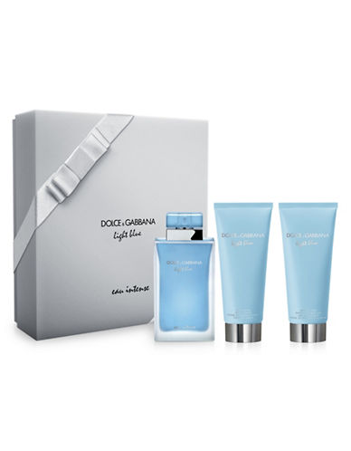 Dolce & Gabbana Light Blue Eau Intense Three-Piece Gift Set-NO COLOUR-100 ml