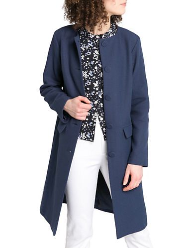 Agnès B. Blue Coat-BLUE-6