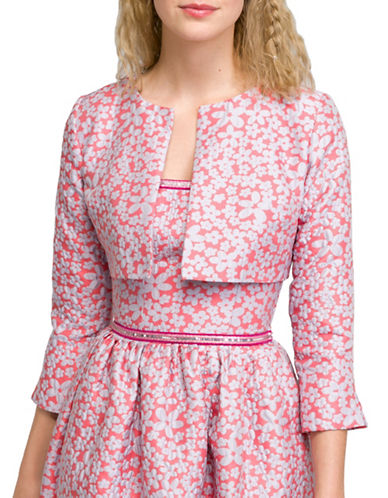 Agnès B. Structured Bolero Jacket-PINK-6