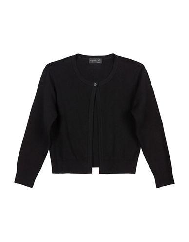 Agnès B. Badianne One-Button Cardigan-BLACK-3