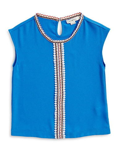 Mini Molly Short-Sleeve Top-BLUE-9-10