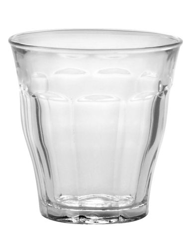 Duralex Set of Six 160mL Glass Tumblers-CLEAR-One Size