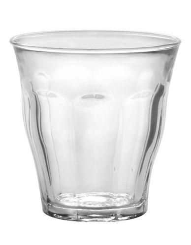 Duralex Set of Six 220mL Glass Tumblers-CLEAR-One Size