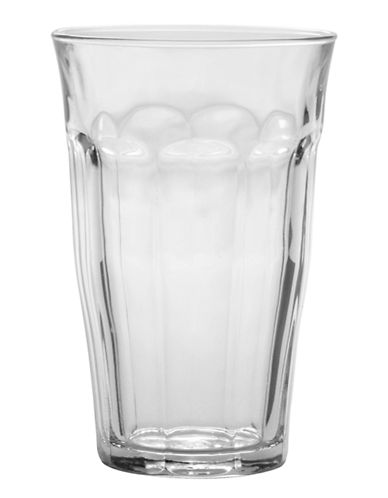 Duralex Set of 6 Picardie Tempered 500ml Tumblers-CLEAR-One Size