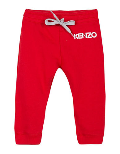 Kenzo Reversible Sweatpants-RED-6 Months