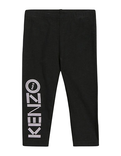 Kenzo Logo Leggings-BLACK-24 Months