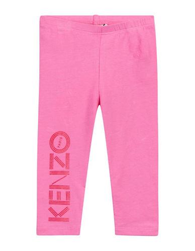 Kenzo Logo Leggings-PINK-9 Months