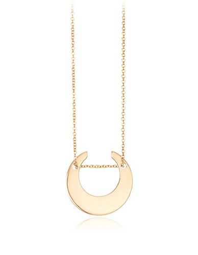 Ginette Ny Mini Masai 18K Rose Gold Necklace-ROSE GOLD-One Size