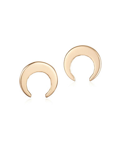 Ginette Ny 18K Rose Gold Masai Stud Earrings-ROSE GOLD-One Size