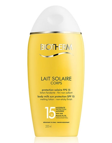 Biotherm Body Milk Sun Protection Spf 15-NO COLOUR-One Size