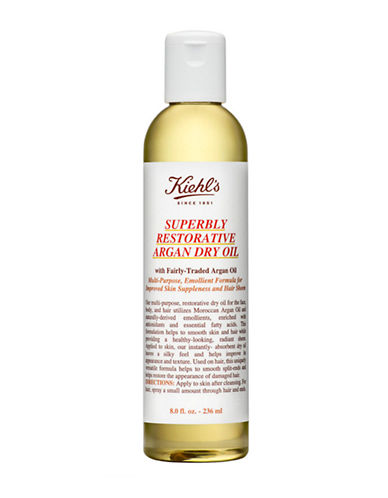KiehlS Since 1851 Superbly Restorative Argan Dry Oil-NO COLOUR-125 ml