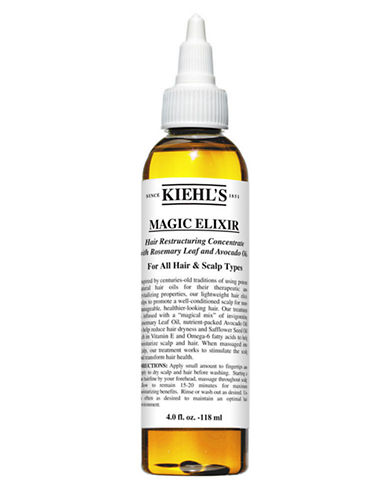 KiehlS Since 1851 Magic Elixir Hair Restructuring Concentrate with Rosemary Leaf and Avocado-NO COLOUR-125 ml