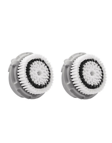 Clarisonic Twin Pack Delicate Brush Heads-WHITE-One Size