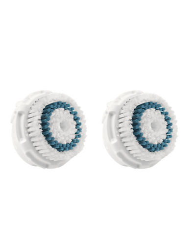 Clarisonic Twin Pack Deep Pore Cleaning Brush Head-WHITE-One Size