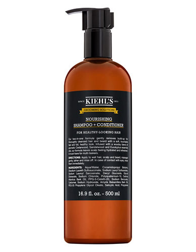 KiehlS Since 1851 Grooming Solutions Nourishing Shampoo and Conditioner-NO COLOUR-50 ml