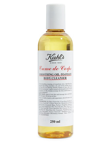 KiehlS Since 1851 Smoothing Oil-to-Foam Body Cleanser-NO COLOR-250 ml