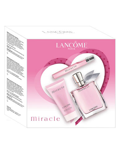 Lancôme 3-Piece Valentines Miracle Fragrance Set-NO COLOR-One Size
