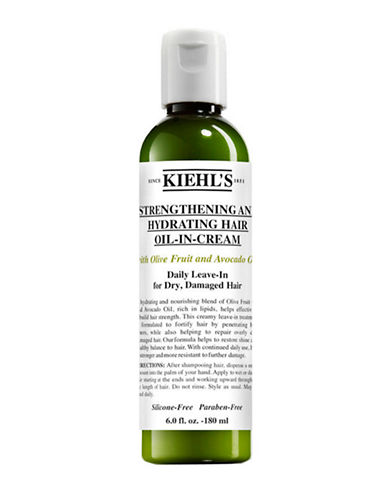 KiehlS Since 1851 Strengthening and Hydrating Hair Oil-in-Cream-NO COLOUR-125 ml