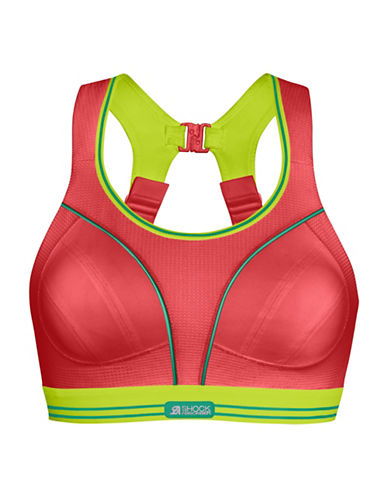 Shock Absorber High Support Run Sports Bra-RED/LIME-36DD 88927860_RED/LIME_36DD
