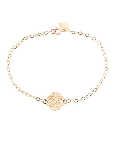 Ginette Ny 18K Rose Gold Purity Bracelet-ROSE GOLD-One Size