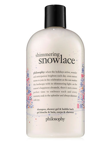 Philosophy Shimmering Snowlace Multi-Purpose Shower Gel-NO COLOR-480 ml