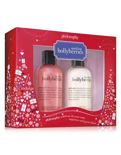 Philosophy Sparkling Hollyberries Duo Set-NO COLOR-One Size