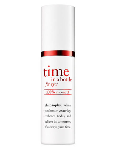 Philosophy Time in a Bottle 100% Eye Serum-NO COLOR-15 ml